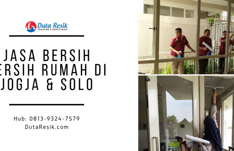 Jasa Bersih Bersih Rumah di Jogja & Solo