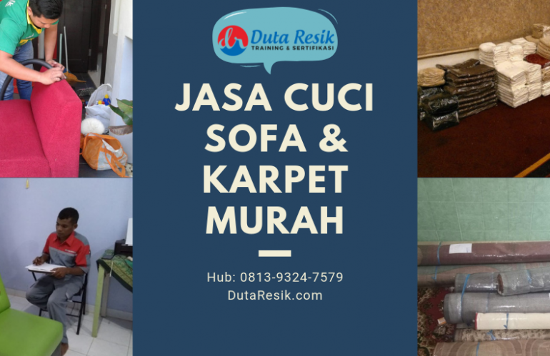 Jasa Cuci Sofa & Karpet Murah | 0813-9324-7579