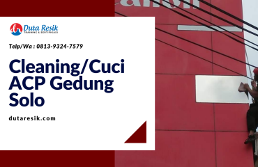 Cleaning_Cuci ACP Gedung Solo