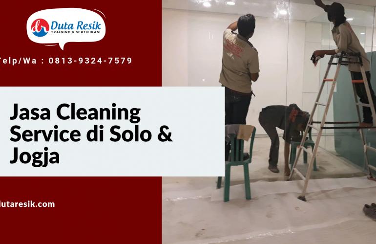 Jasa Cleaning Service di Solo & Jogja